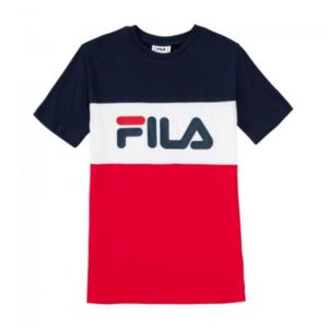 FILA Unisex Shirts & Tops Fila donkerblauw shirt classic day blocked tee 687192 - 1