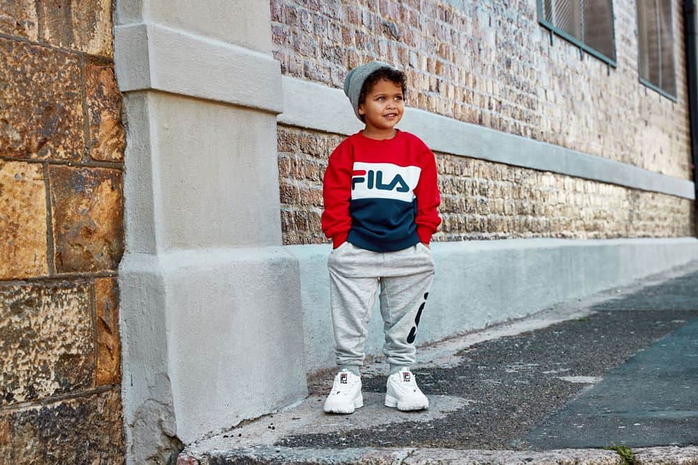 FILA Unisex Truien & Vesten Fila Kids sweater Night Blocked Urban Line 687194-G06 - 3