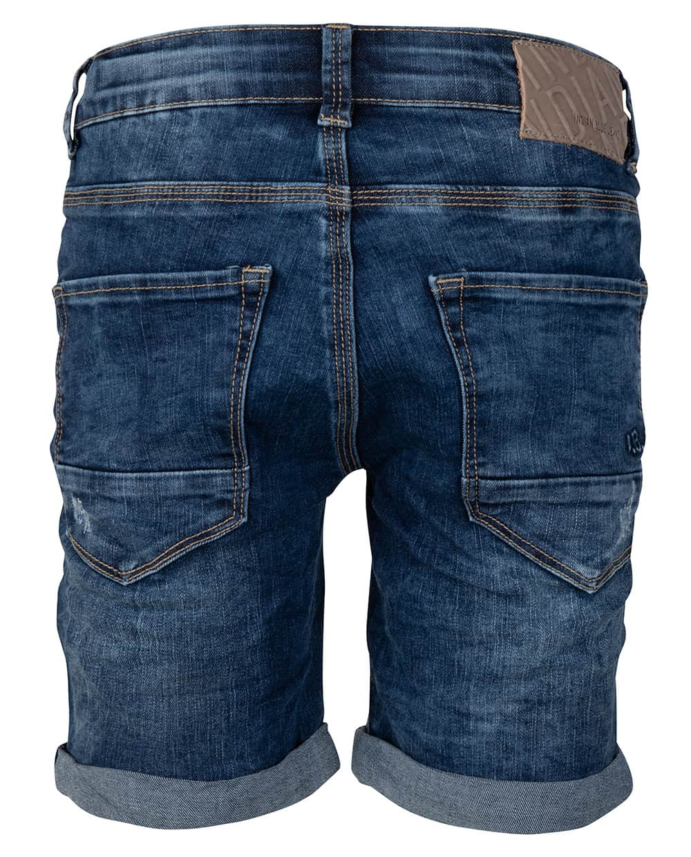 Indian Blue Jeans Jongens Broeken Indian Blue Jeans donkerblauwe short Dann - 2