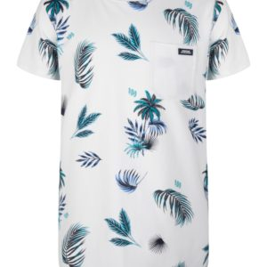 Indian Blue Jeans Jongens Shirts & Tops Indian Blue Jeans wit shirt Palm print - 1
