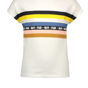 Like Flo Meisjes Shirts & Tops Like Flo wit shirt top Rainbow - 1