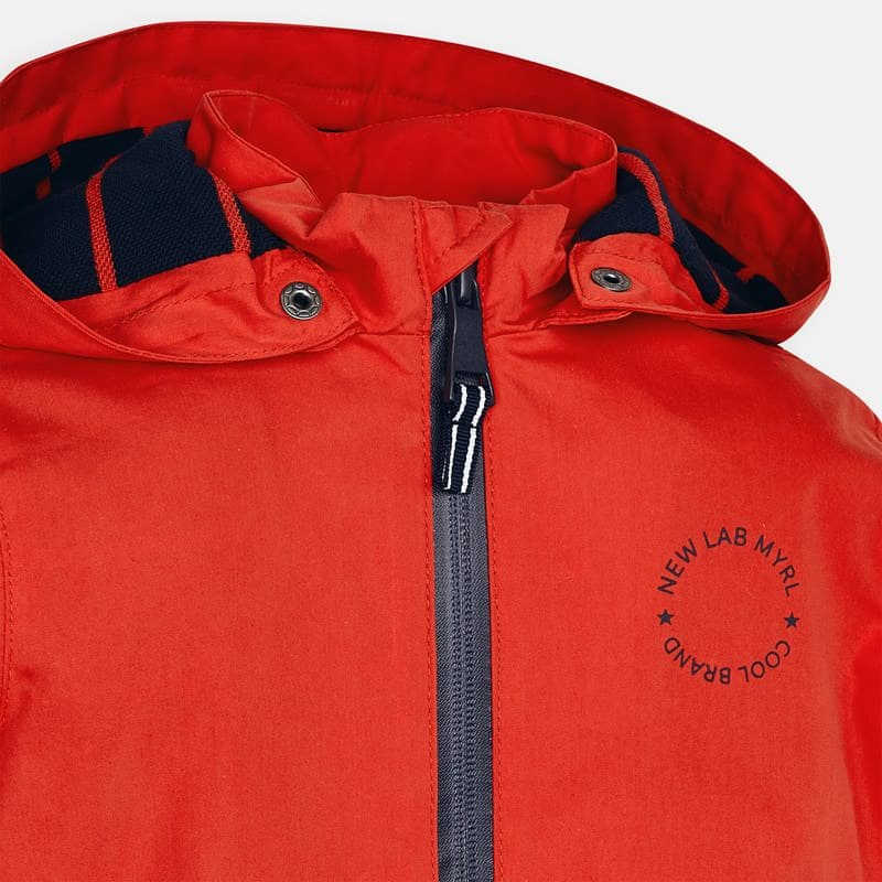 Mayoral Jongens Jassen Mayoral rode zomerjas windbreaker Hibiscus jongens - 4