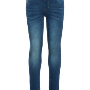 Name it Jongens Broeken Name it donkerblauwe spijkerbroek jeans Theo NOOS - 1