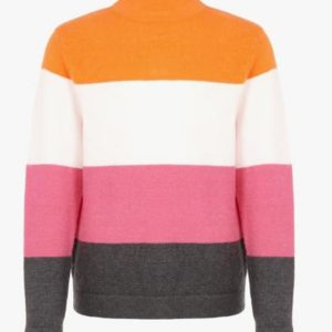 Name it Meisjes Truien & Vesten Name it oranje trui sweater meiden Vulia 13170271 wintercollectie 2019 - 1