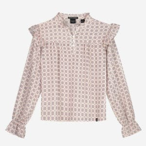 NIK&NIK Meisjes Shirts & Tops NIK&NIK off-white blouse top Dami - 1