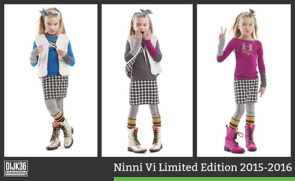 Ninni Vi Limited Edition kinderkleding collectie winter 2015 - 2016