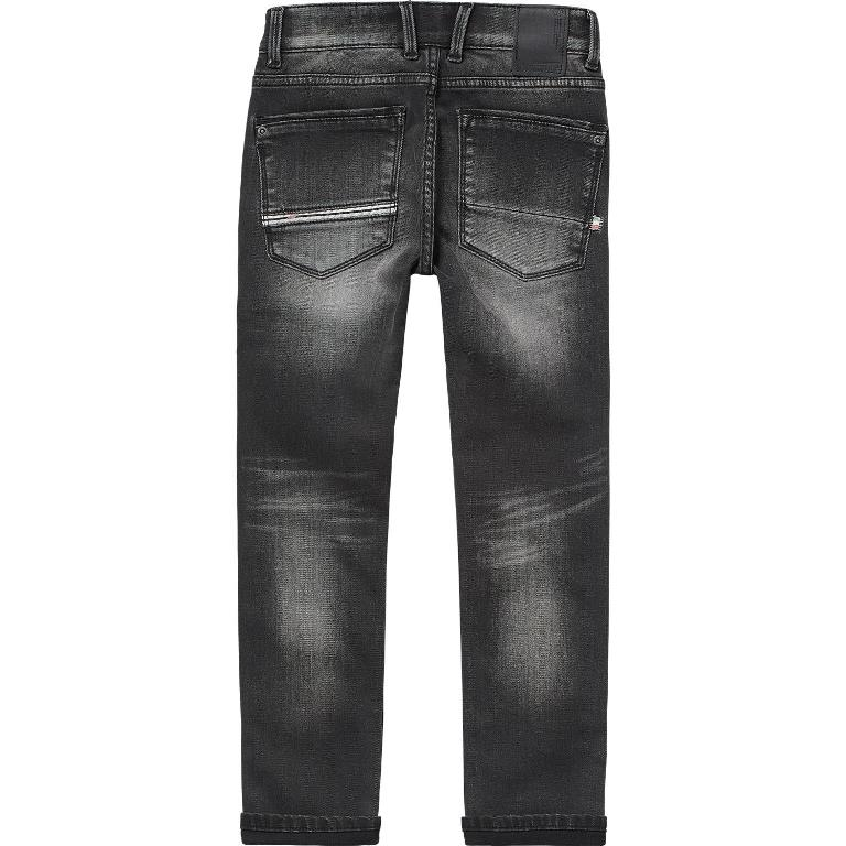 Vingino Jongens Broeken Vingino jongens broek Alvasco Dark grey Vintage Super soft denim - 2