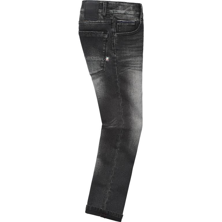Vingino Jongens Broeken Vingino jongens broek Alvasco Dark grey Vintage Super soft denim - 3