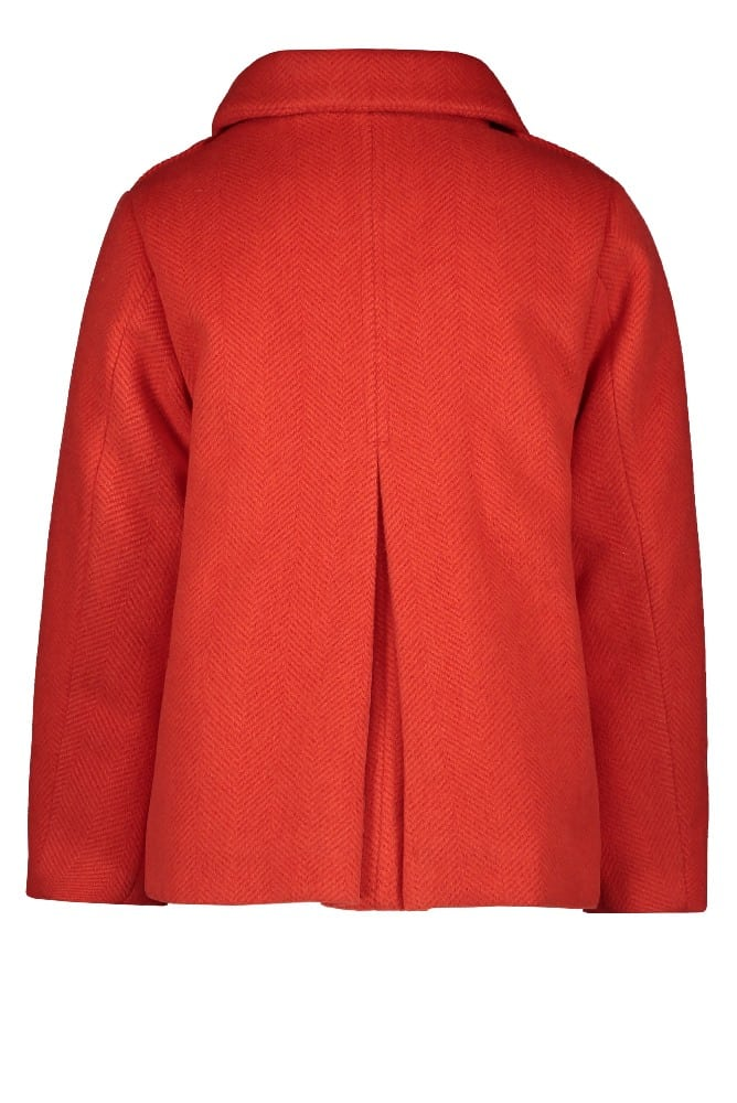 Like Flo Meisjes Jassen Like Flo Girls meisjes winterjas wool Pumpkin - 2