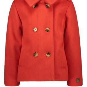Like Flo Meisjes Jassen Like Flo Girls meisjes winterjas wool Pumpkin - 1