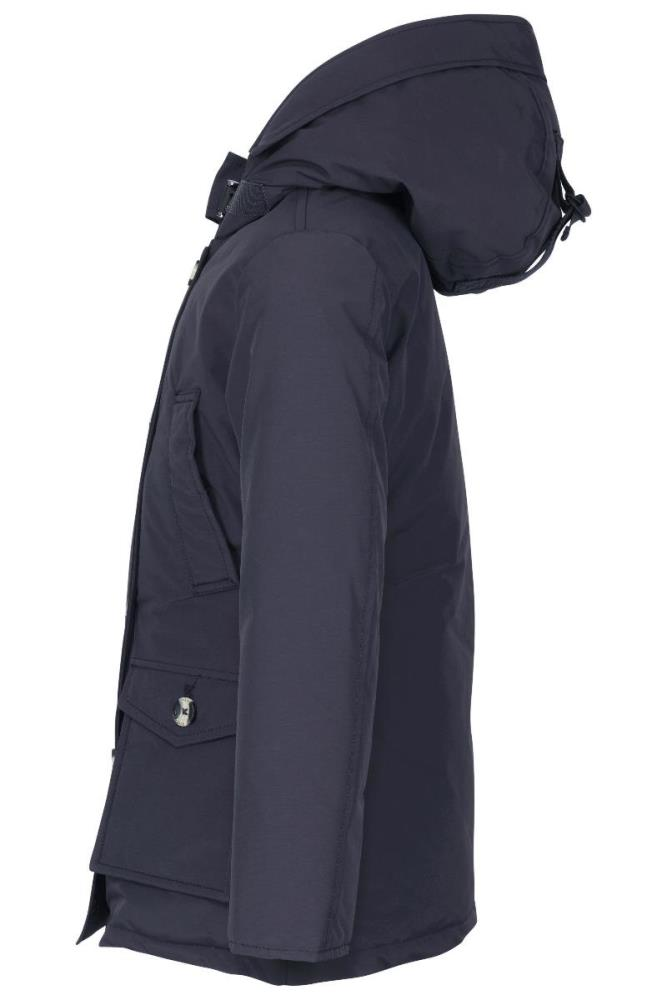 Airforce Meisjes Jassen Airforce donkerblauwe 4 pocket parka winterjas - 3