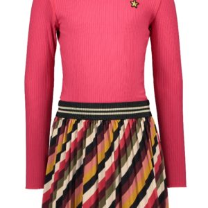 Like Flo Meisjes Jurken & Rokken Like Flo Girls jurk Turtle neck dress - 1