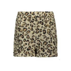 Like Flo Meisjes Broeken Like Flo Girls meisjes short wool Animal - 1