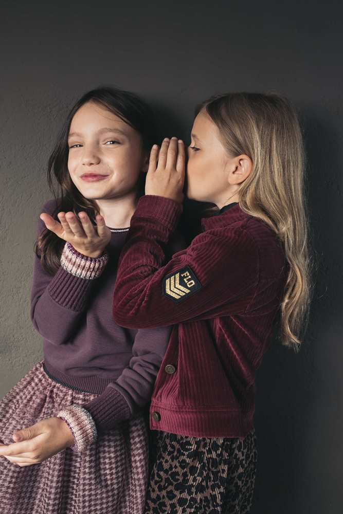Like Flo Meisjes Jurken & Rokken Like Flo Girls turtle neck dress - 5