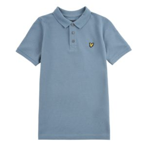 Lyle & Scott Jongens Shirts & Tops Lyle and Scott blauwe polo shirt - 1