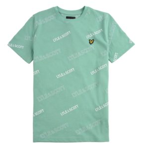 Lyle & Scott Jongens Shirts & Tops Lyle and Scott mint groen shirt Outline - 1