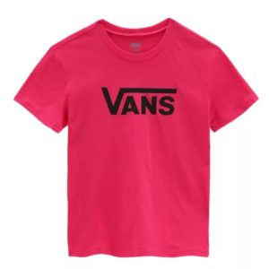 Vans Meisjes Shirts & Tops Vans roze shirt Flying Crew - 1