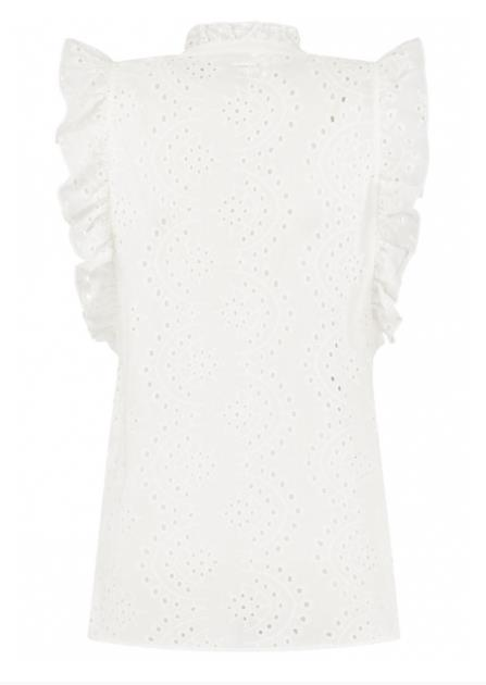 Circle of Trust Meisjes Blouses Circle of Trust witte blouse Katie - 2