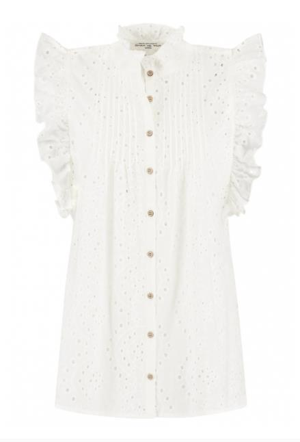 Circle of Trust Meisjes Blouses Circle of Trust witte blouse Katie - 1