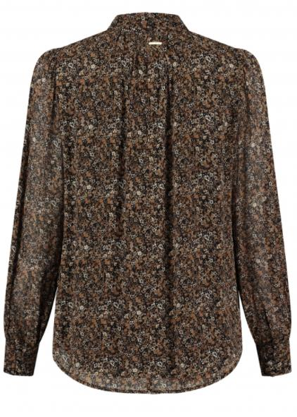 Circle of Trust Meisjes Blouses Circle of Trust bruine blouse Dione - 2