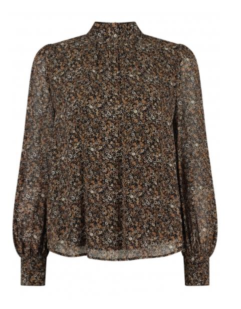 Circle of Trust Meisjes Blouses Circle of Trust bruine blouse Dione - 1