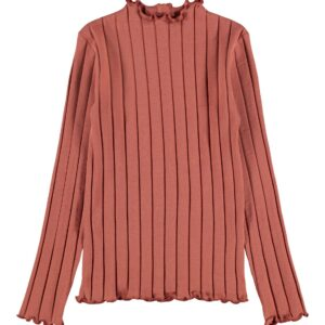 Name it Meisjes Shirts & Tops Name it roest bruine top Noralina - 1